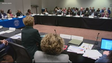 CMS Board and county commissioners meet to discuss security, student health