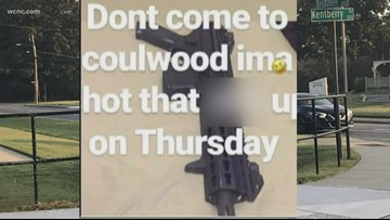 Student arrested after posting online shooting treat to Coulwood Middle School