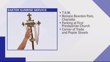 Charlotte churches partnering for Easter sunrise service