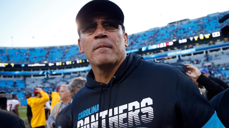 Ron Rivera Carolina Panthers 2019