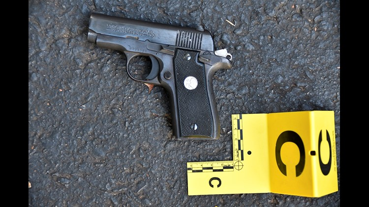 The gun recovered by CMPD at the scene of the Keith Scott shooting.