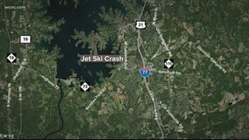 1 dead, 1 injured in Lake Norman jet ski crash