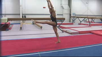 Huntersville teen gymnast makes national team