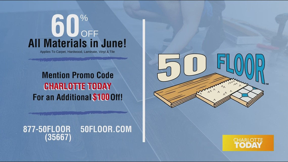 Refresh your home with new flooring from 50 Floor