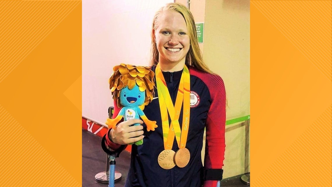Full interview: One-on-one with Paralympian Hannah Aspden