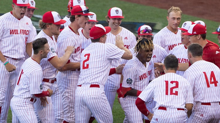 NC State takes control of its College World Series bracket with win over Vanderbilt