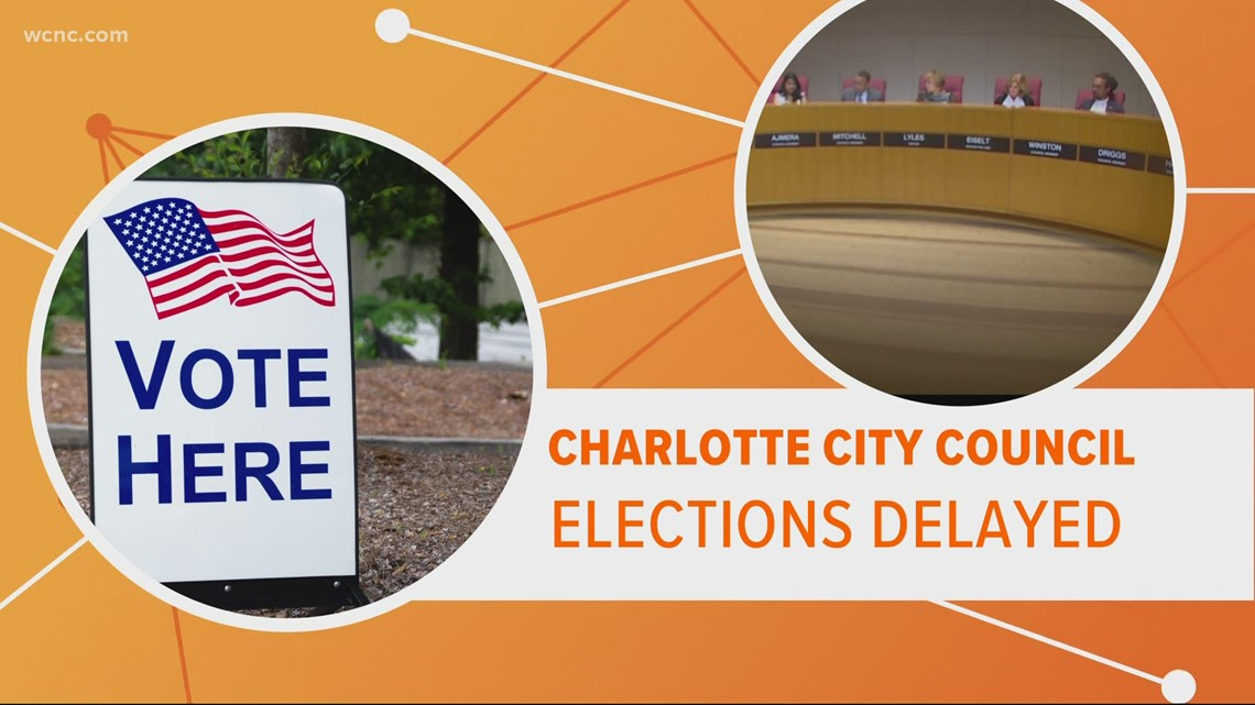 Charlotte City Council elections likely delayed until 2022