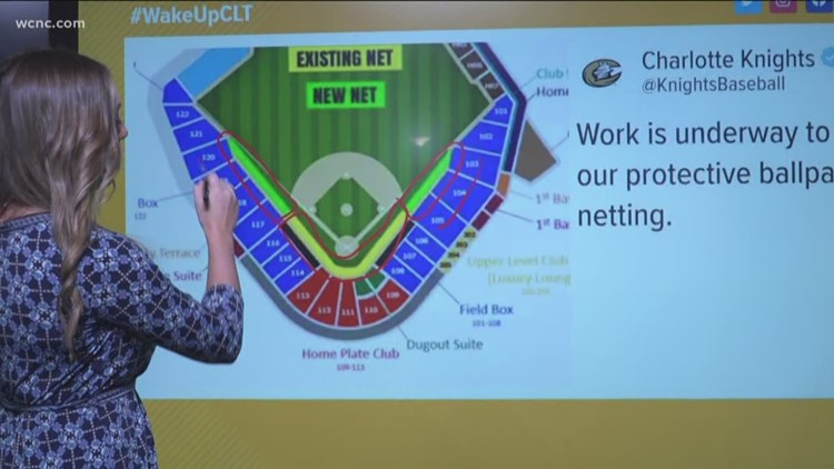 Charlotte Knights extend safety net at BB&T Ballpark