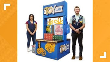 Walmart Toy Lab interactive event happening today