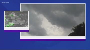 Chevy Storm Tracker headed towards Gaston County thunderstorm