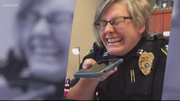 Police captain goes viral after scam call