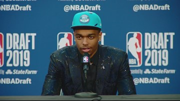 Hornets select P.J. Washington with first pick