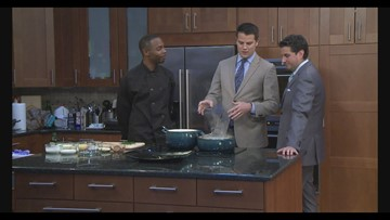 Chef Josh breaks down how to make lobster mac and cheese