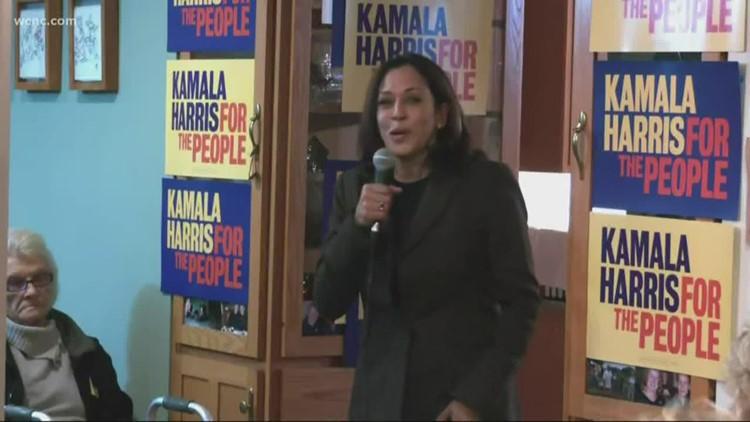 Kamala Harris to make campaign stop in South Carolina