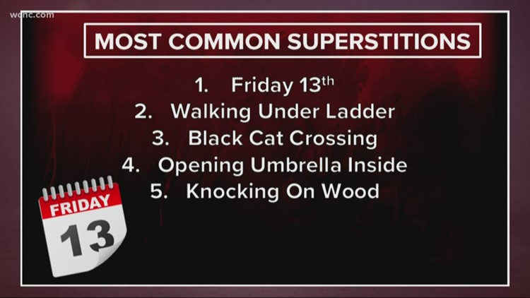 Freaky Friday: The most common superstitions people believe