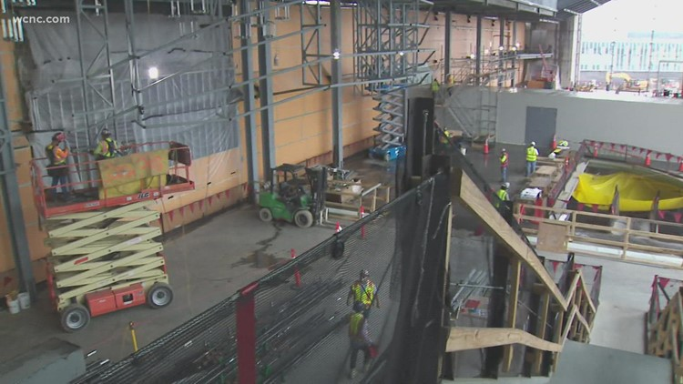 Transformation underway for Charlotte Douglas International Airport entrance