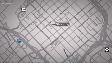 Man shot in uptown after fight breaks out, CMPD says