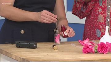 DIY Rose water setting spray
