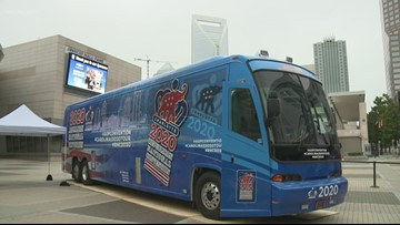 RNC bus tour kicks off in Charlotte