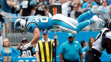 Panthers defeat Jaguars 34-27 behind McCaffrey's monster game