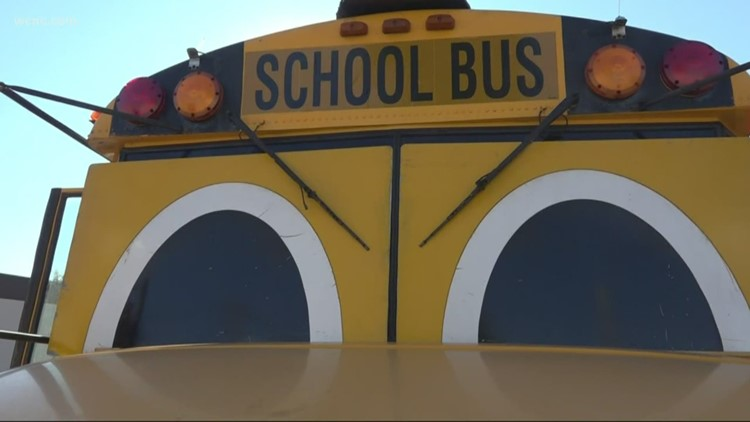 """Gus the Bus"" talks school bus safety"