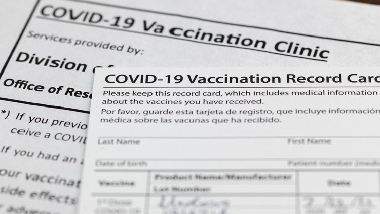 NC college students buying fake vaccine cards to circumvent testing requirements