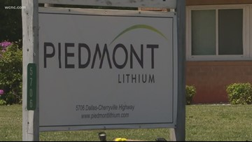 Gaston County company completes major step towards mining lithium