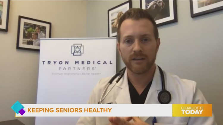 Keeping seniors healthy, especially during covid