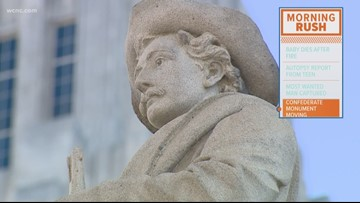 Report: Plan in place to move Confederate Statue in Winston-Salem