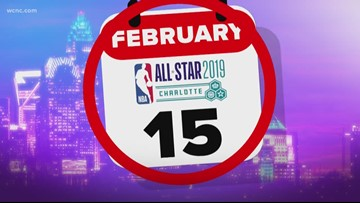 Countdown to All-Star Weekend continues; Charlotte prepares