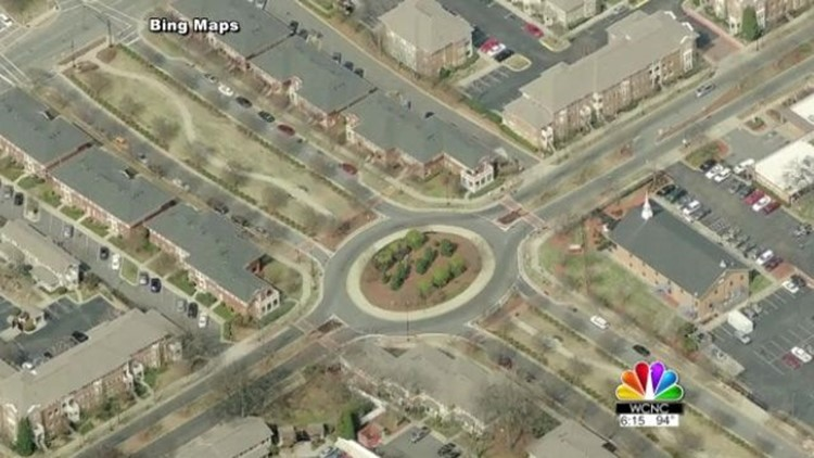 NBC Charlotte went through the 100 page handbook and only found part of one page dealing with roundabouts.