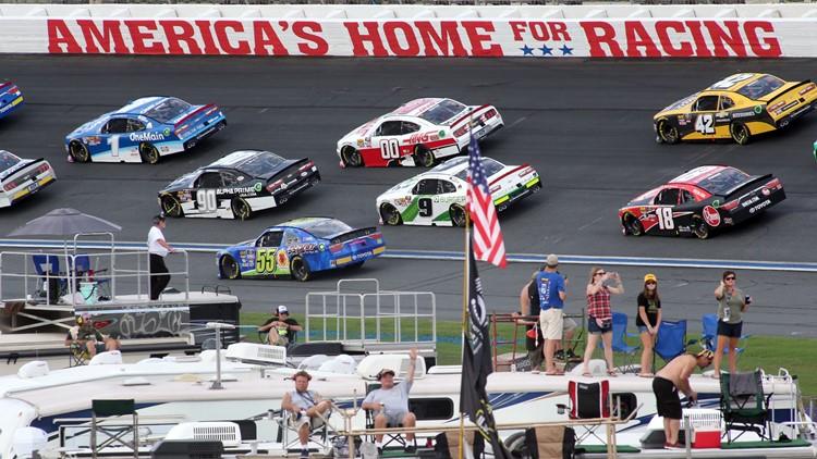 Vote for Charlotte Motor Speedway as NASCAR's best track