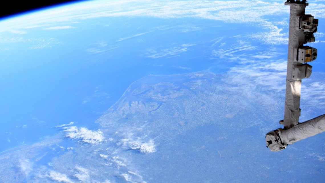 'It took my breath away' Astronaut tweets a photo of North Carolina from space