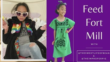 8-year-old South Carolina girl fundraises to feed children in need
