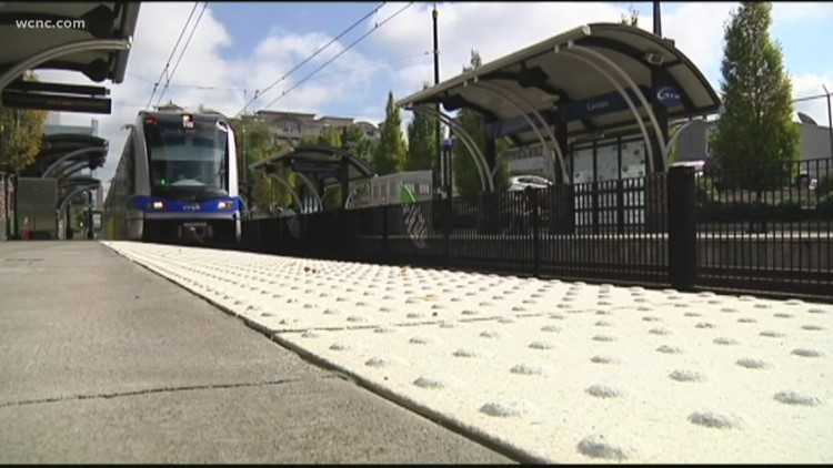 The Silver Line will run from Belmont to Matthews, but this is the biggest hurdle