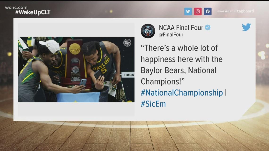 Baylor dominates Gonzaga to win the NCAA basketball championship