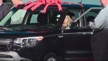 'I never win anything'   Gaston County educator has a new ride