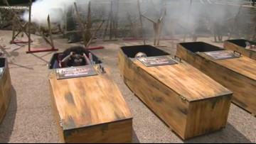 Six Flags 30 hour coffin challenge returns