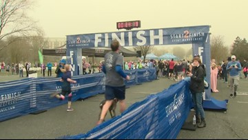 Annual Run Jen Run 5k held in south Charlotte