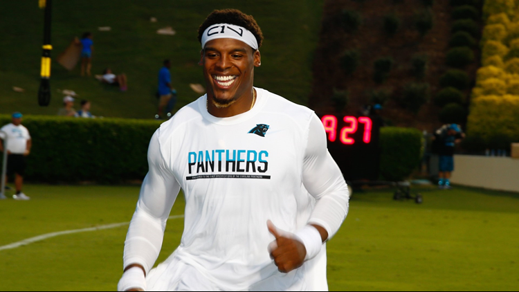 Cam Newton's Car Hit By Dump Truck; Appears To Be Fine