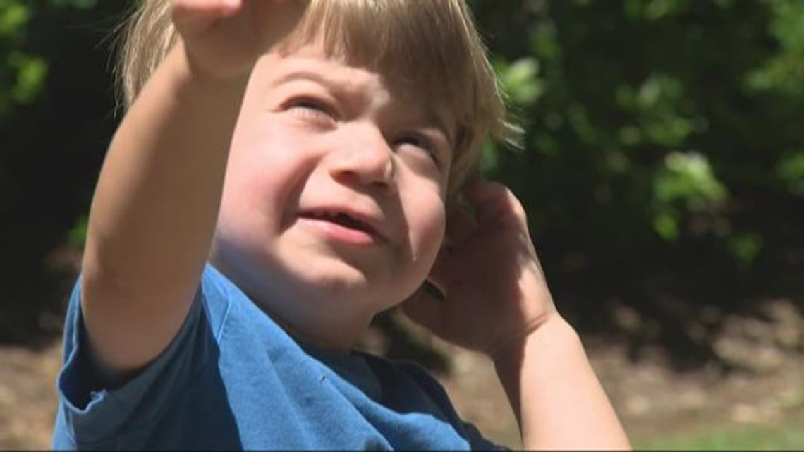 Dad raises money for 3-year-old son's rare disease