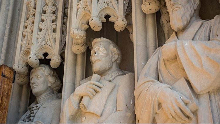 <p>This decision follows the vandalism of the statue on Duke's campus Wednesday, and rising tensions in Durham after a group of protesters in Durham toppled a Confederate monument Monday evening.</p>