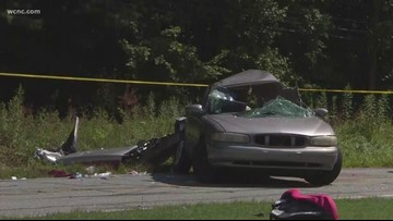 4-month-old baby killed in crash in Burke County