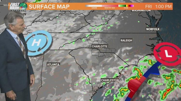 FORECAST: A pleasant day for the Carolinas