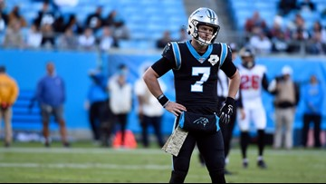 Kyle Allen throws 4 INTs in 29-3 loss to Falcons