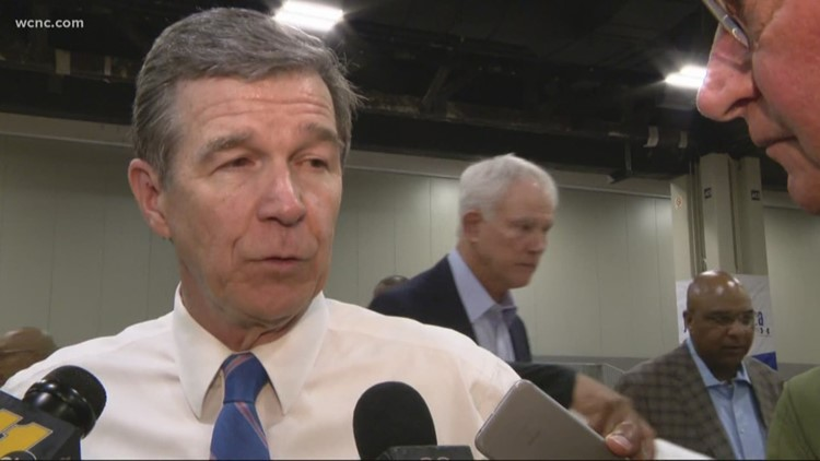Gov. Cooper talks NBA, gun bills, District 9