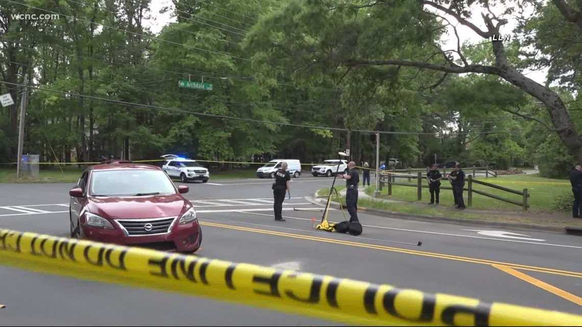 Person hit by vehicle in south Charlotte near South Park