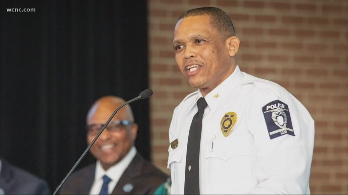 New CMPD chief to be sworn in Wednesday
