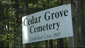 Group to clean up abandoned cemetery after NBC Charlotte story