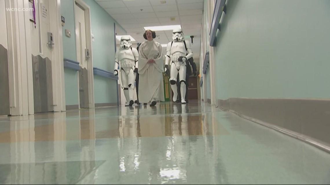 All Star Chevy >> Star Wars Day brings joy inside children's hospital | wcnc.com